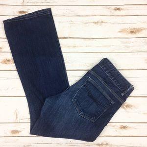 Gap 1969 perfect boot dark wash jeans